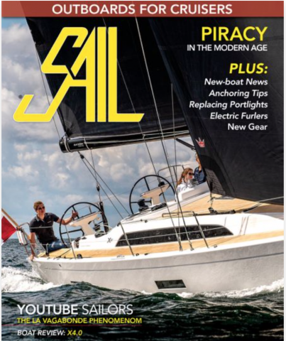 The Latest Issue of Sail Magazine Features the X4⁰