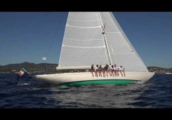 Eagle 54 sailing in St. Tropez